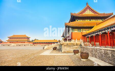 Forbidden City in Beijing North China - Stock Photo