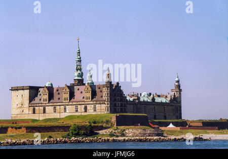 KRONBORG CASTLE Denmark Helsingör 2005 one of the most important Rainessance Castle in Northern Europe and is known - Stock Photo