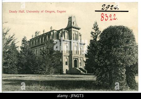 083 -Eugene, Ore.-1906-Deady Hall, University of Oregon-Brück & Sohn Kunstverlag - Stock Photo