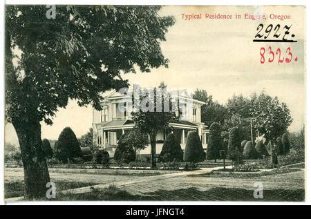 08323-Eugene, Ore.-1906-Typical Residence-Brück & Sohn Kunstverlag - Stock Photo