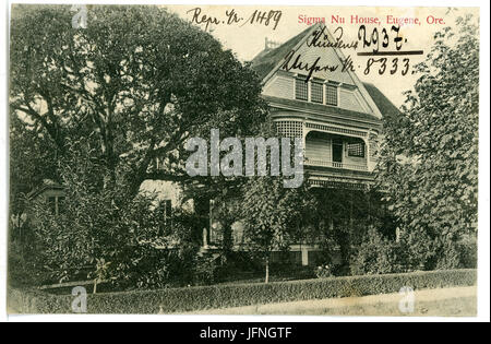 08333-Eugene, Ore.-1906-Sigma Nu House-Brück & Sohn Kunstverlag - Stock Photo