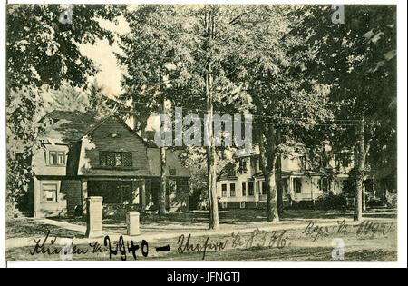 08336-Eugene, Ore.-1906-Residences-Brück & Sohn Kunstverlag - Stock Photo