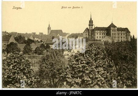 01610-Torgau-1901-von Bastion I gesehen-Brück & Sohn Kunstverlag - Stock Photo