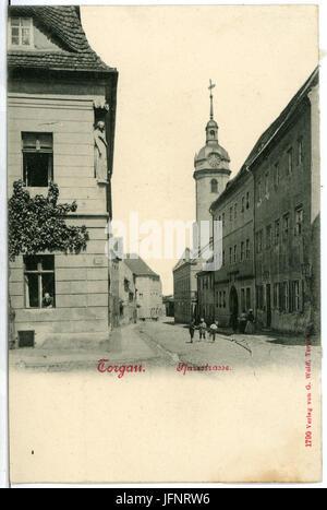 01790-Torgau-1901-Pfarrstraße-Brück & Sohn Kunstverlag - Stock Photo