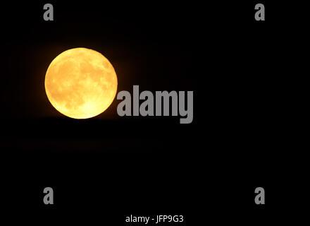moon; full moon; - Stock Photo