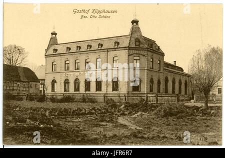 15593-Klipphausen-1913-Gasthof-Brück & Sohn Kunstverlag - Stock Photo