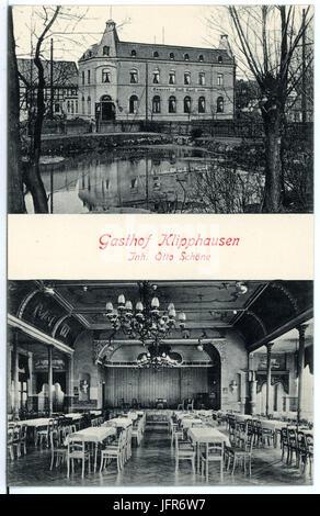 15640-Klipphausen-1913-Gasthaus und Saal-Brück & Sohn Kunstverlag - Stock Photo