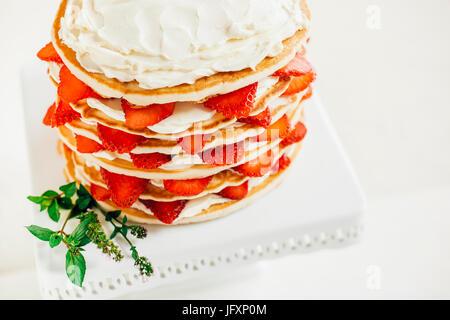 Pancake Cake - Stock Photo