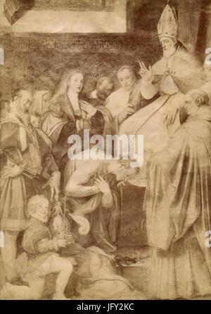 Pope Gregory VII Stock Photo: 136602528 - Alamy