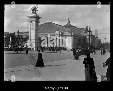 Eugène Trutat Grand Palais des Beaux-Arts de l'Exposition Universelle 1900 - Stock Photo