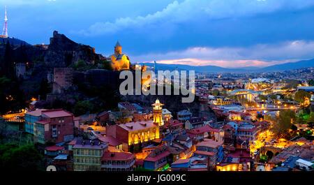 View of Tbilisi, Georgia - Stock Photo