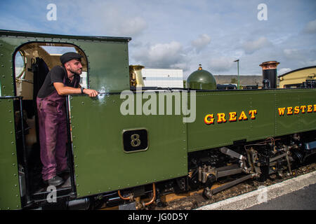 Aberystwyth Wales UK, Monday 03 July 2017.  21 years old today, on his birthday Jac Smith has become the latest - Stock Photo