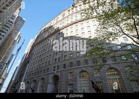 curved front of 26 broadway New York City USA - Stock Photo