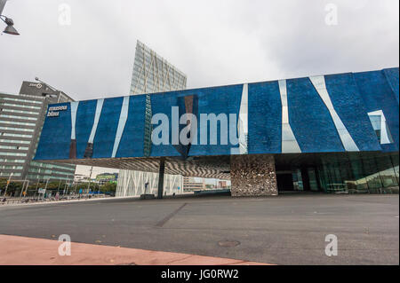 Museu Blau – Natural History Museum of Barcelona, Forum Building, Herzog & de Meuron architects,  exterior - Stock Photo