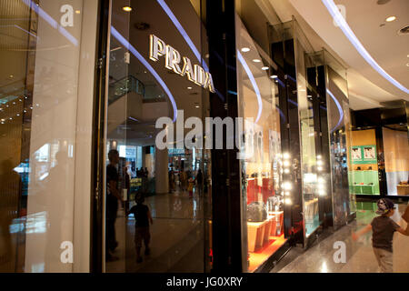 Shops in Westfield London, England - Stock Photo