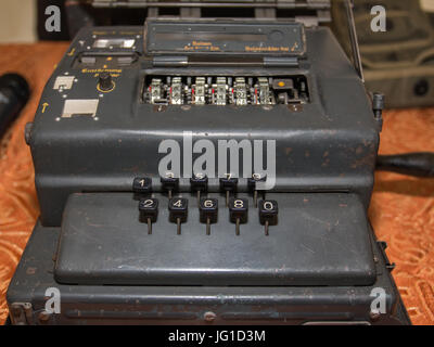 The Enigma Cipher Coding Machine from World War II - Stock Photo