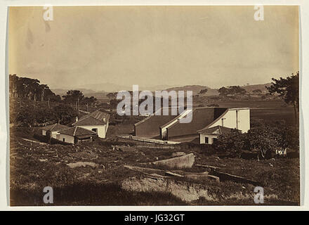 Lai Afong Foochow Foreign Settlement South side of the River 1870 - Stock Photo