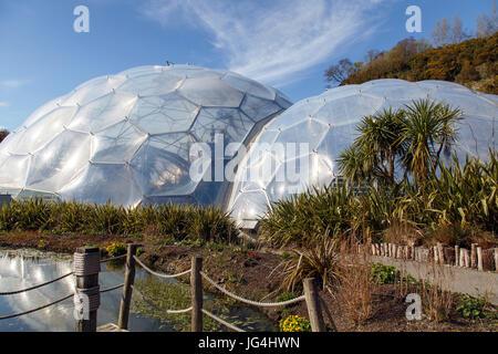 Eden Project - Biomes - Stock Photo