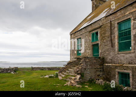The Hall of Clestrain on Orkney Mainland was the birthplace of Arctic explorer John Rae. DETAILS IN DESCRIPTION. - Stock Photo