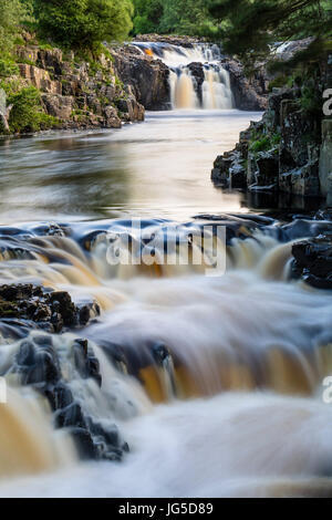 Low Force,  Bowlees, Upper Teesdale, County Durham. UK - Stock Photo