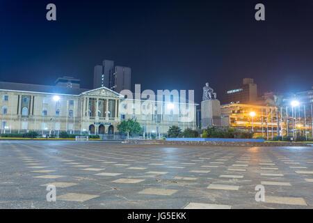 Supreme court, The Judiciary building, Nairobi, Kenya - Stock Photo