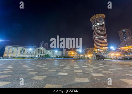 The Judiciary and Kenyatta International Convention Center, Nairobi, Kenya - Stock Photo