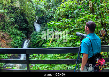 Monteverde biological reserve, Costa Rica - Stock Photo