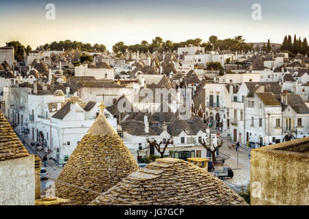 trulli round houses of alberobello unesco world heritage site stock photo royalty free image. Black Bedroom Furniture Sets. Home Design Ideas