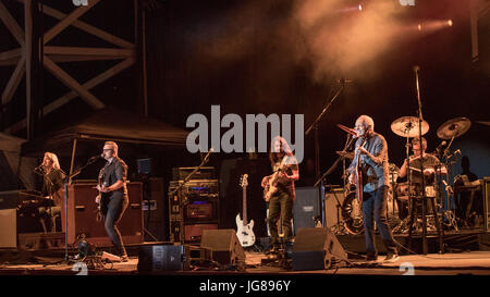 Milwaukee, Wisconsin, USA. 2nd July, 2017. PETER FRAMPTON performs live at Henry Maier Festival Park during Summerfest - Stock Photo