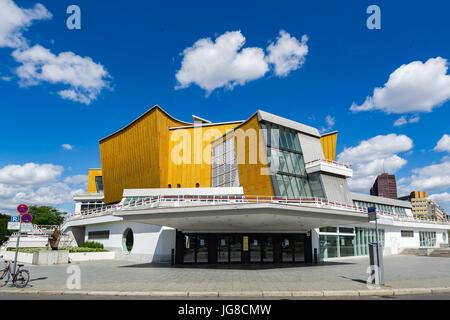 Berlin, Germany. 12th June, 2017. The Building of 'Berlin Philharmonie' on June 12, 2017 in Berlin, Germany. Photo: - Stock Photo