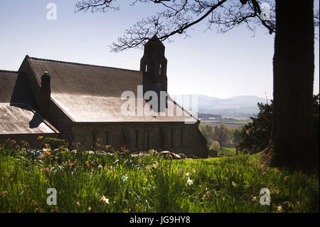 St Michael's Church, Ford, Northumberland - Stock Photo