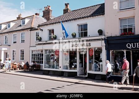 Southwold Suffolk UK June 2017 - Jack Wills fashion shop - Stock Photo