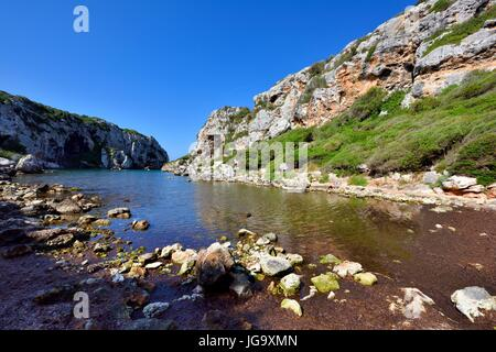 Cales Coves Menorca Spain - Stock Photo