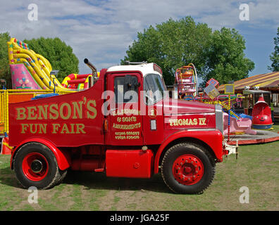 Scammell Highwayman Fairground Lorry - Stock Photo
