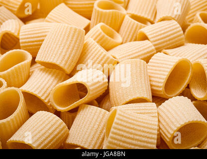 maccheroni group background,pasta texture - Stock Photo