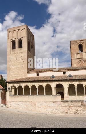 San Martin  church of Arevalo, Avila province, Castilla y Leon, Spain - Stock Photo