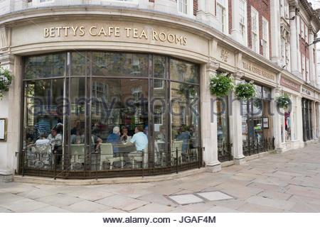 Bettys Café and Tearoom in York, England, UK - Stock Photo