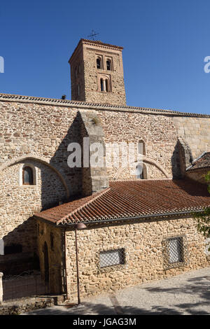 Santa Maria del Castillo church, Buitrago de Lozoya, Comunidad de Madrid, Spain - Stock Photo