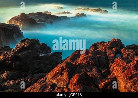 Jover coast in Tenerife island (Spain) - Stock Photo