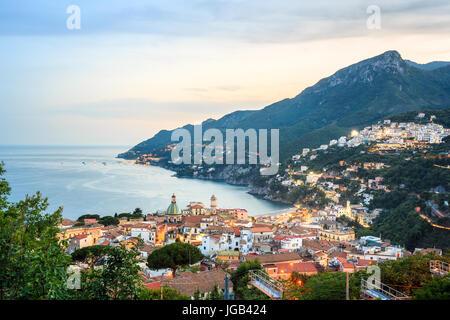 Vietri Sul Mare, Amalfi Coast, Salerno, Campania, Italy - Stock Photo
