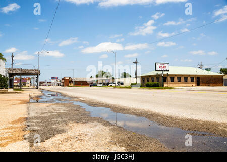 Oklahoma City, Historic Route 66, Oklahoma, USA - Stock Photo