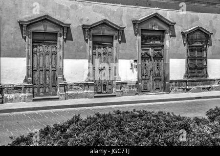 Doors of San Luis Potosi - Stock Photo