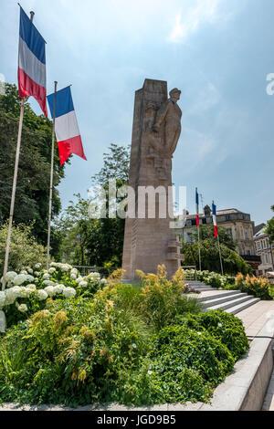 Monument du General Leclerc, Amiens - Stock Photo