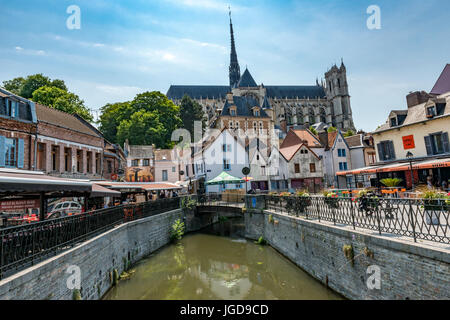 Amiens Cathedral, Amiens - Stock Photo