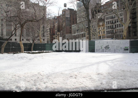 Madison Square Park, Fifth Avenue at 23rd st, New York, United States - Stock Photo