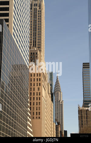 Buildings, New York, United States - Stock Photo