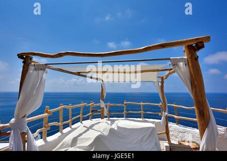 Cova d'en Xoroi Menorca Balearic islands Spain - Stock Photo