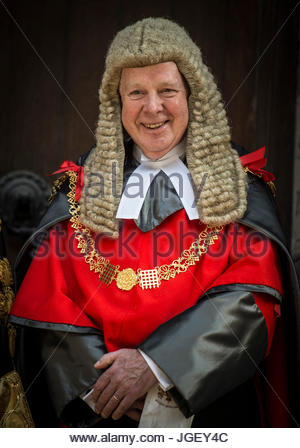 File photo dated 19/2017 of the Lord Chief Justice Lord Thomas of Cwmgiedd who has dismissed suggestions Brexit - Stock Photo