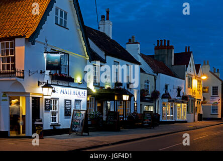 The Malthouse pub, Thornbury, Gloucester, England UK - Stock Photo