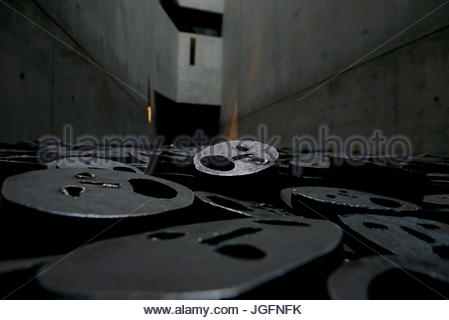 An exhibit at the Jewish Museum in Berlin. - Stock Photo